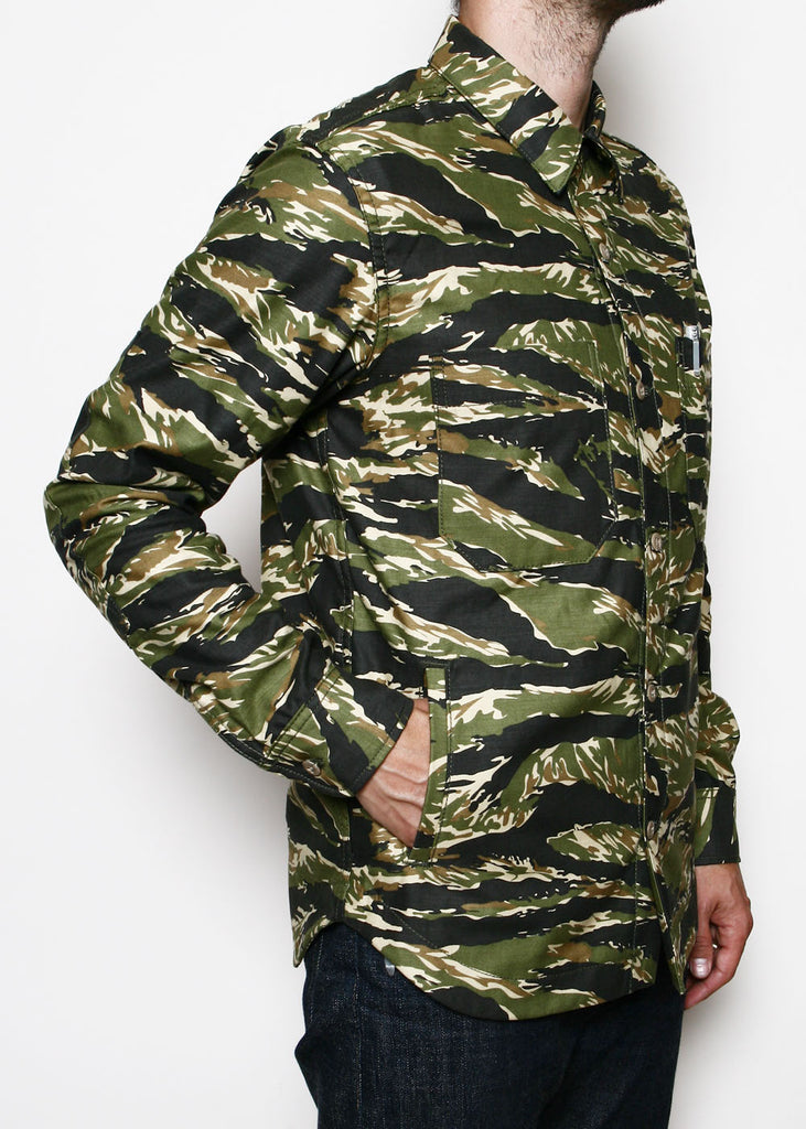 Rogue Territory - Patrol Work Shirt Tiger Camo