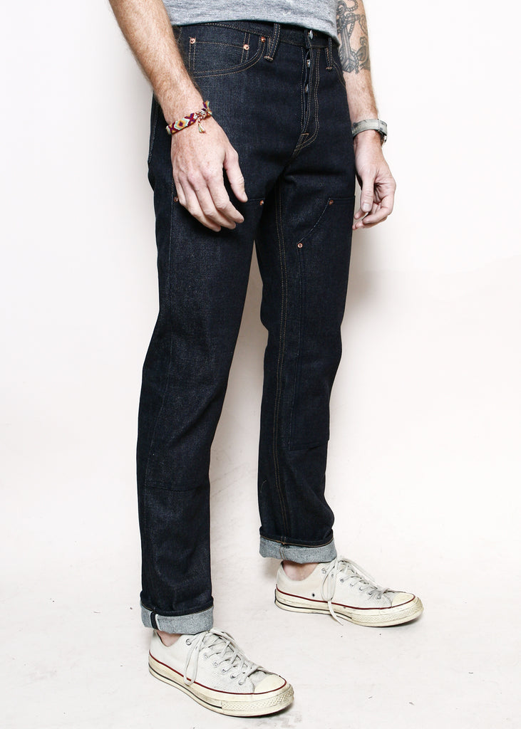 Rogue Territory for Berkeley Supply Copper Anniversary Double Knee Stanton - 15oz Indigo