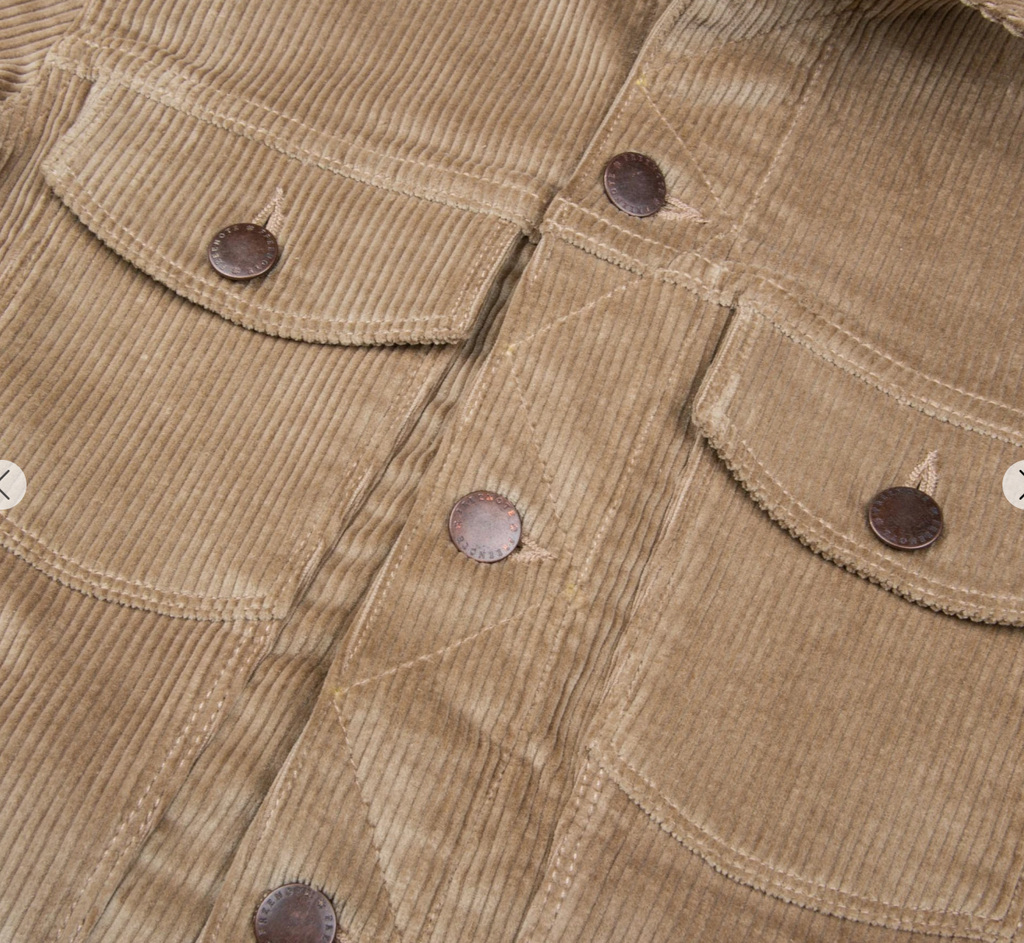 Freenote Cloth - THE CLASSIC TRUCKER JACKET IN CORDUROY