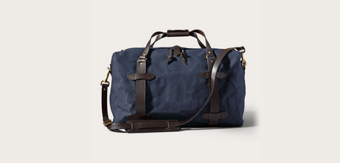 Filson - MEDIUM RUGGED TWILL DUFFLE BAG - Navy