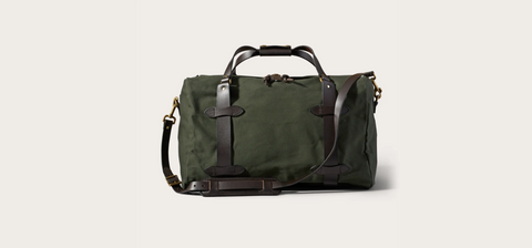 Filson - MEDIUM RUGGED TWILL DUFFLE BAG - Otter Green