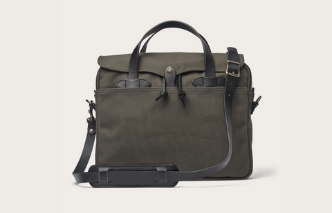 Filson - RUGGED TWILL ORIGINAL BRIEFCASE - Root