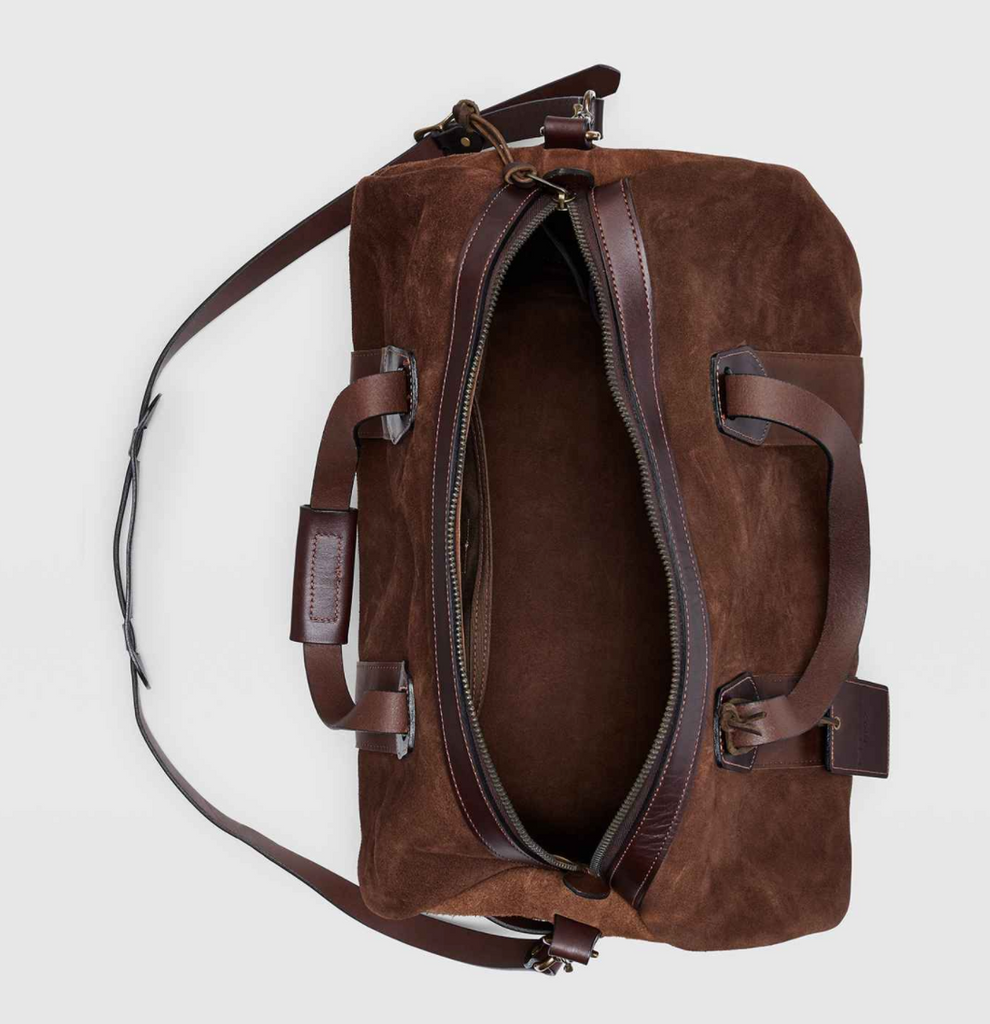 Filson - Rugged Suede Duffle - Brown Suede