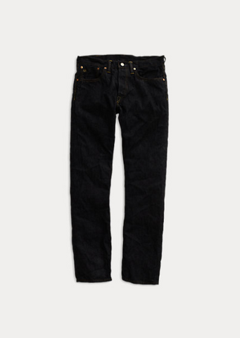 RRL - Slim Fit Selvedge Jean - Once Washed