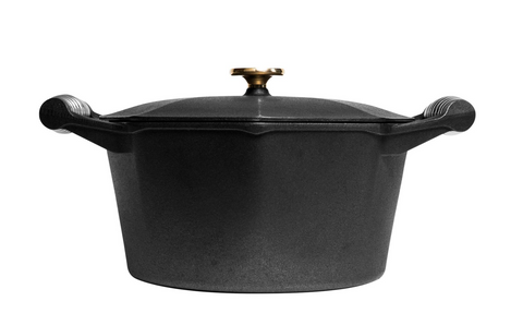 FINEX CAST IRON DUTCH OVEN- 5QT