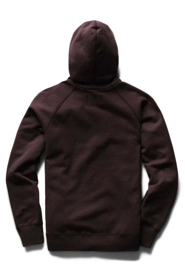 MIDWEIGHT TERRY PULLOVER HOODIE-DUSK