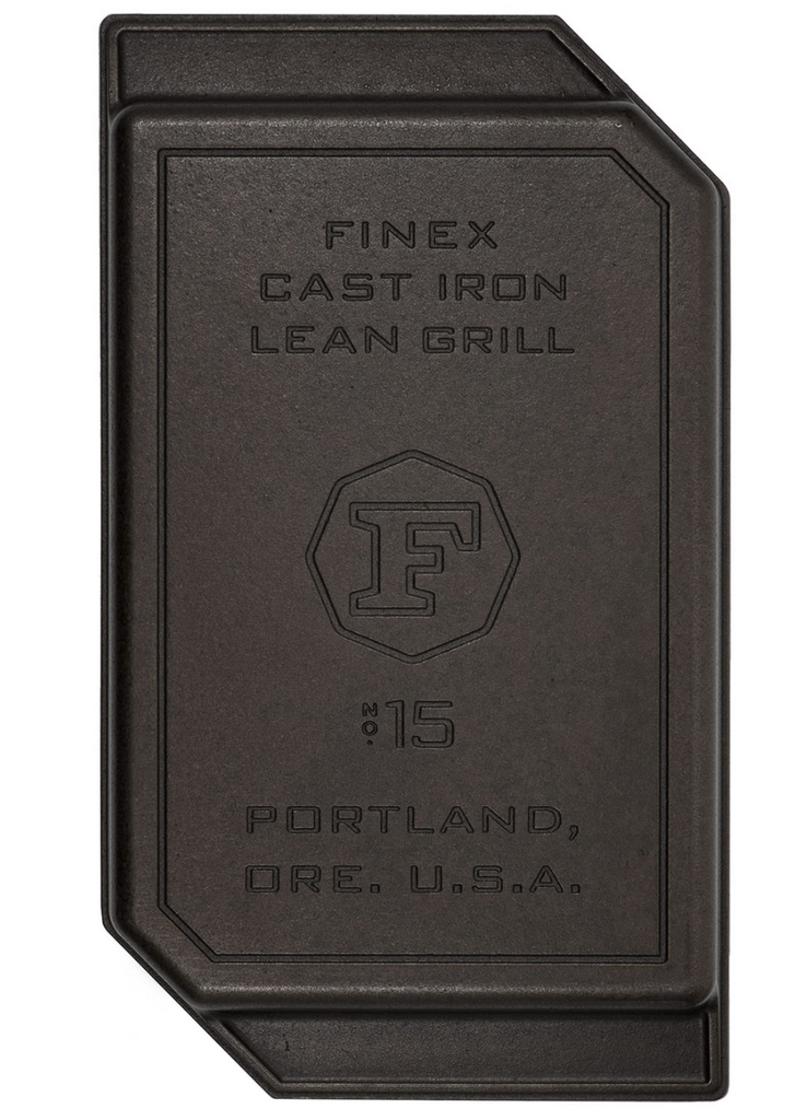 "FINEX CAST IRON GRILL PAN- 15"" Lean"