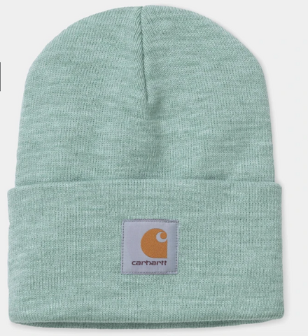 CARHARTT ACRYLIC WATCH HAT- FROSTED GREEN HEATHER