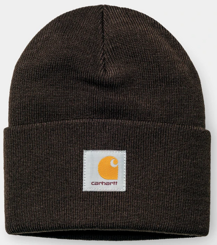 CARHARTT ACRYLIC WATCH HAT- TOBACCO