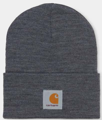 CARHARTT ACRYLIC WATCH HAT - DARK GREY HEATHER