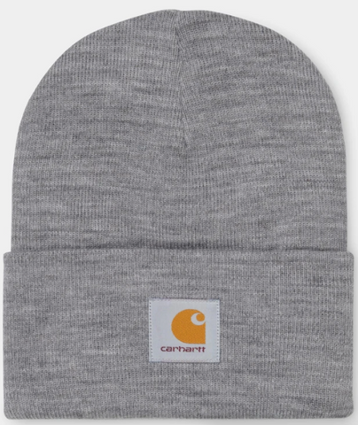 CARHARTT ACRYLIC WATCH HAT- GREY HEATHER