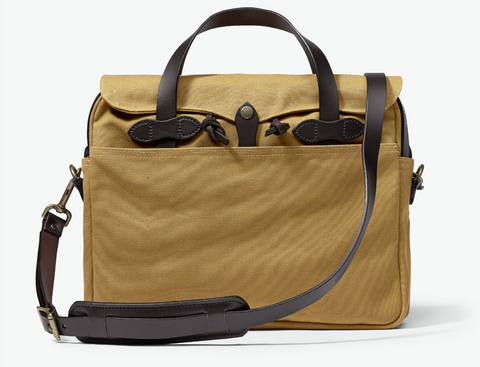 FILSON ORIGINAL BRIEFCASE- TAN