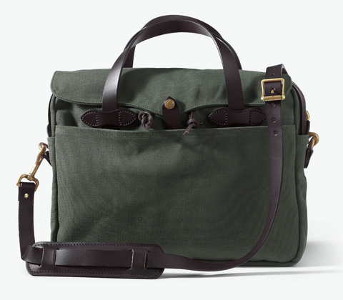 FILSON ORIGINAL BRIEFCASE- OTTER GREEN