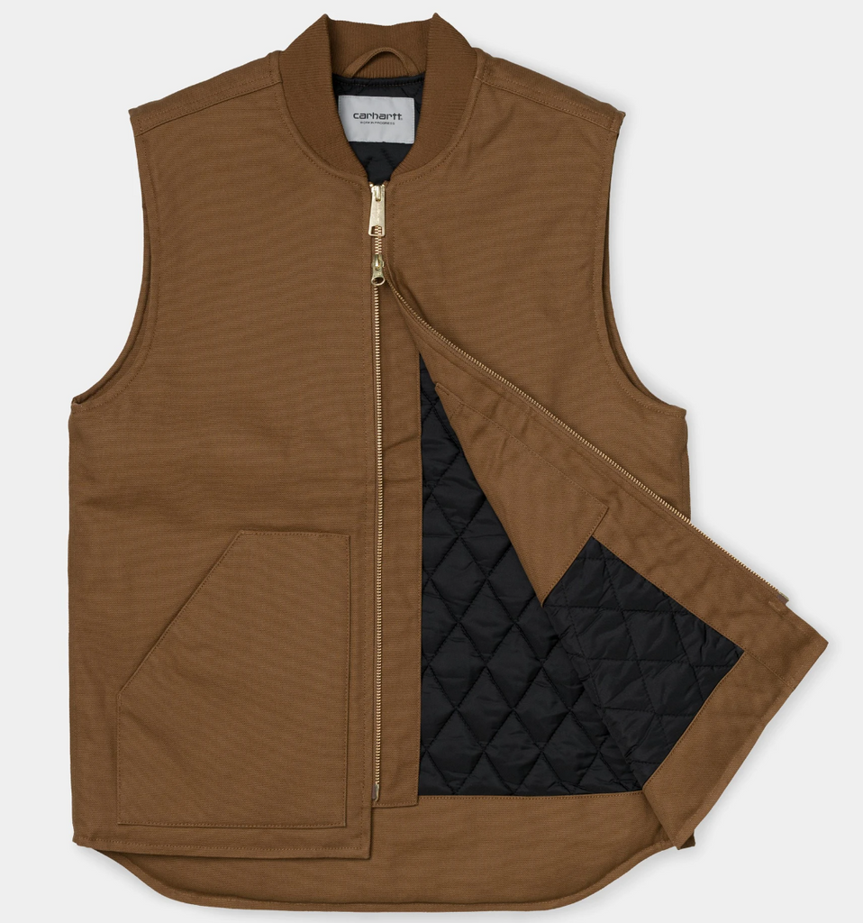 Carhartt WIP - Winter Vest - Hamilton Brown Rigid