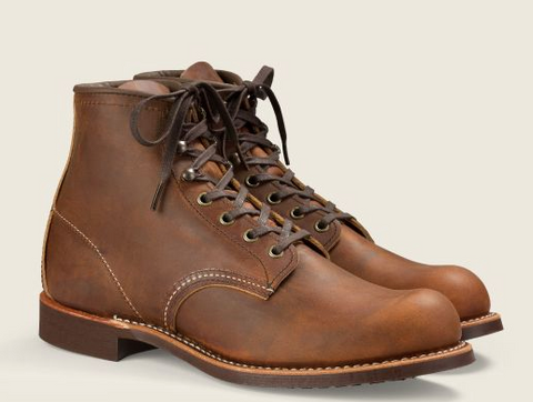 REDWING BLACKSMITH 6in- Style #3343- COPPER ROUGH & TOUGH