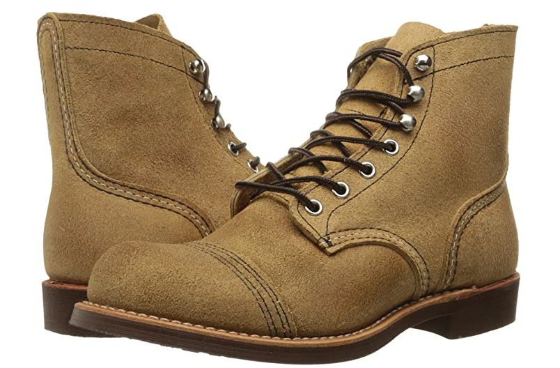 REDWING IRON RANGER MEN'S 6-INCH BOOT IN HAWTHORNE MULESKINNER LEATHER #8083