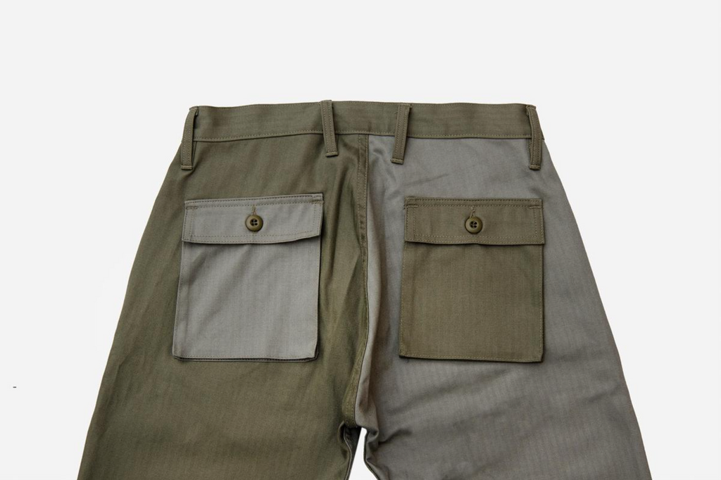 3sixteen - Fatigue Pants - Olive Block