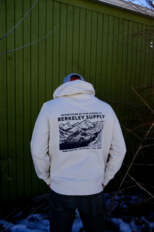 Berkeley Supply x John Fellows - 8 Year Hoodie - Natural