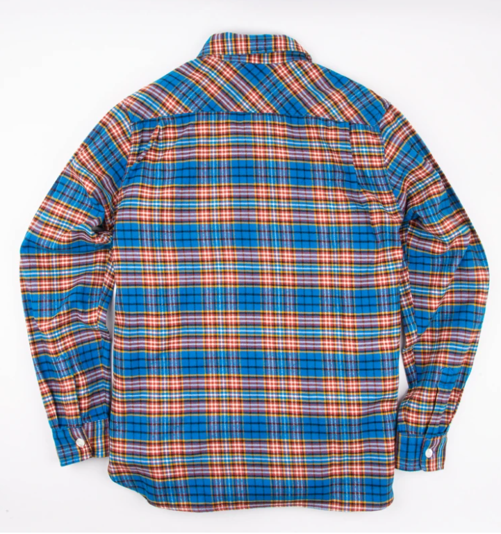 FREENOTE Benson Blue Plaid