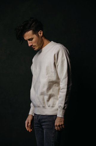 BS BASICS Crewneck- Cream
