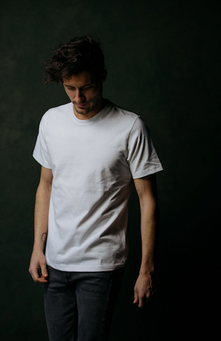 "BS BASICS ""Heavies"" T Shirt- White"