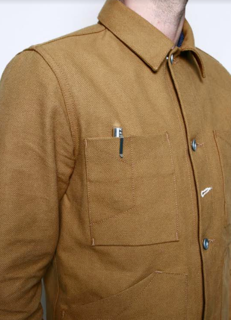 ROGUE TERRITORY Open Range Jacket- Copper Canvas Selvedge