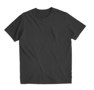 "BS BASICS ""Heavies"" T Shirt- Black"