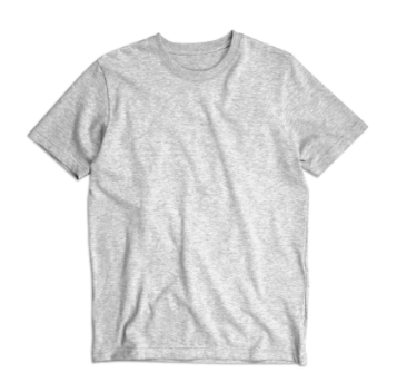"BS BASICS ""Heavies"" T Shirt- Grey"