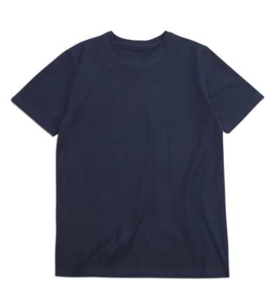 "BS BASICS ""Heavies"" T Shirt- Navy"