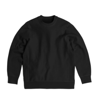 BS BASICS Crewneck- Black