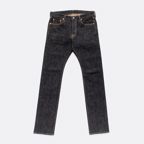 Iron Heart - IH-555-SST-  21oz Shinayaka Selvedge Denim Super Slim Jeans - Indigo STRETCH