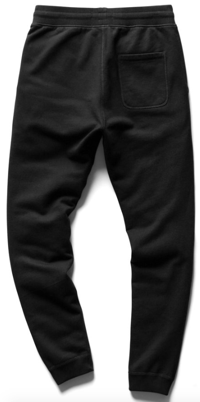 Midweight Terry Sweatpant - Black
