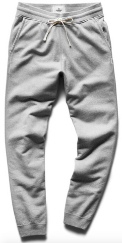 Midweight Terry Sweatpant - Heather Grey