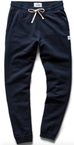 Midweight Terry Sweatpant - Navy