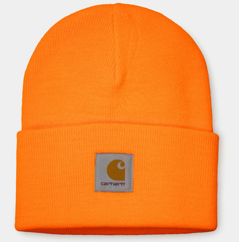 Carhartt WIP Acrylic Watch Hat - Pop Orange