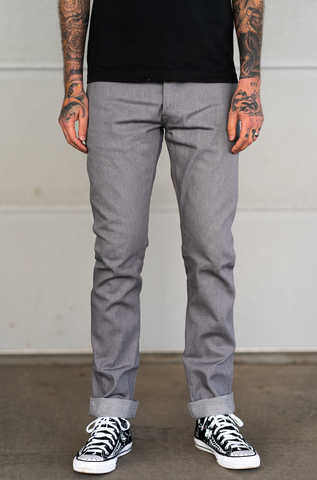 Rogue Territory - Neppy Gray Denim - SK & Stanton