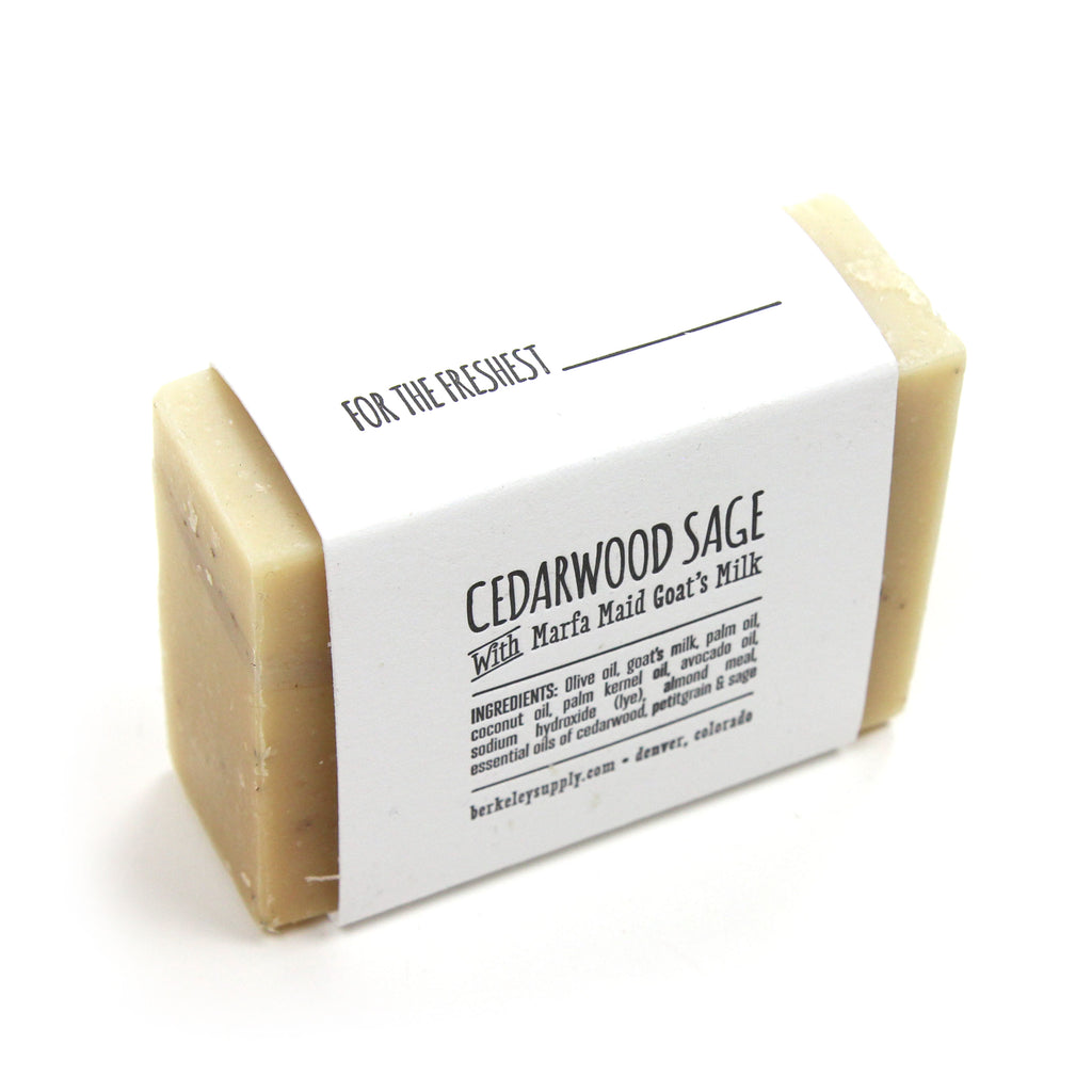 Berkeley Soap-ply (Cedarwood Sage)