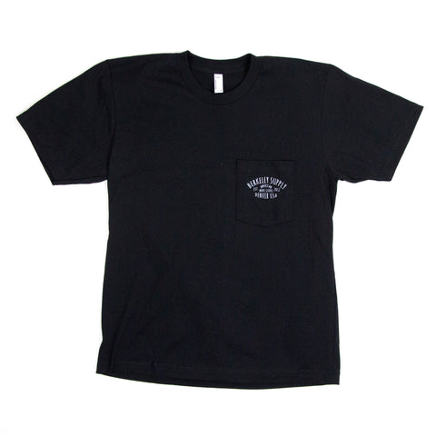 Berkeley Supply Shop Tee - Black