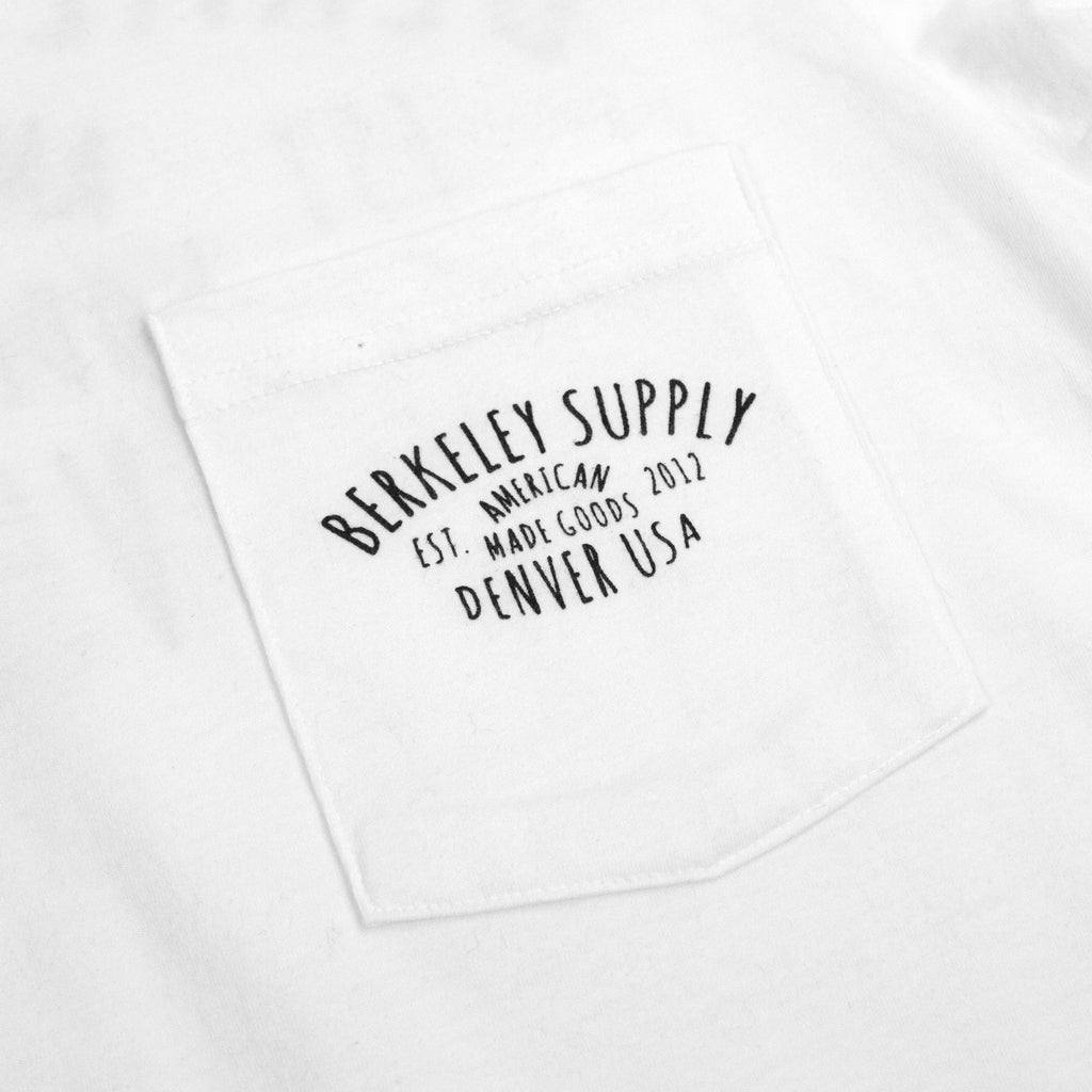 Berkeley Supply Shop Tee - White