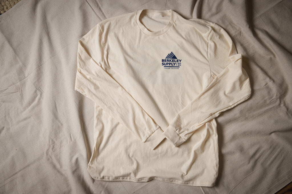 Berkeley Supply x John Fellows - 8 Year LS T-Shirt - Natural