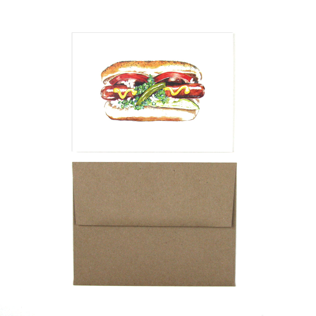My Favorite Colour Studio Card - Chicago Dog