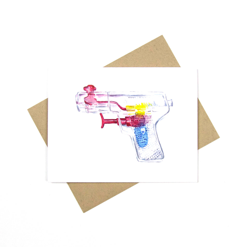My Favorite Colour Studio Card - Squirt Gun