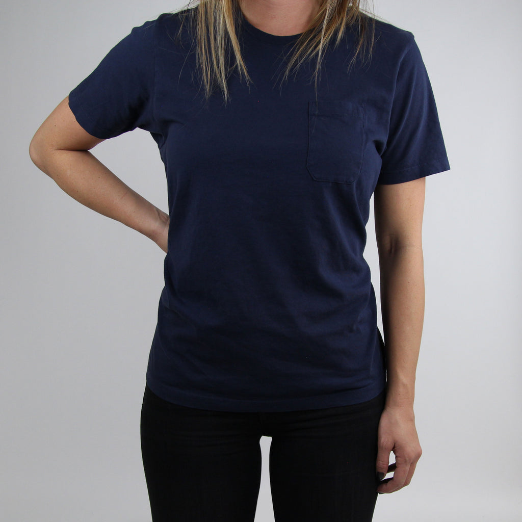 Basic Pocket Tee - Navy