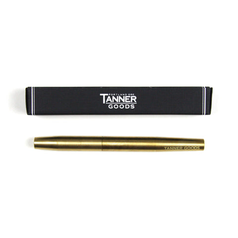 Tanner Goods Solid Brass Pen