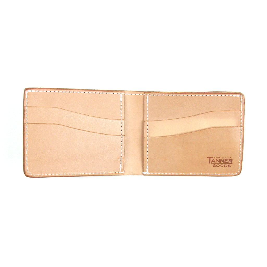Tanner Goods Bifold Wallet - Natural