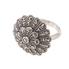 Silver Marcasite Ring - Chicago Marcasite Jewellery