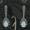 Cubic Zirconia Marcasite Earrings - Chicago Marcasite Jewellery
