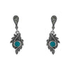 Turquoise Earrings - Chicago Marcasite Jewellery
