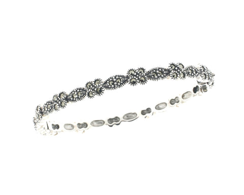 Marcasite Bangle - Chicago Marcasite Jewellery