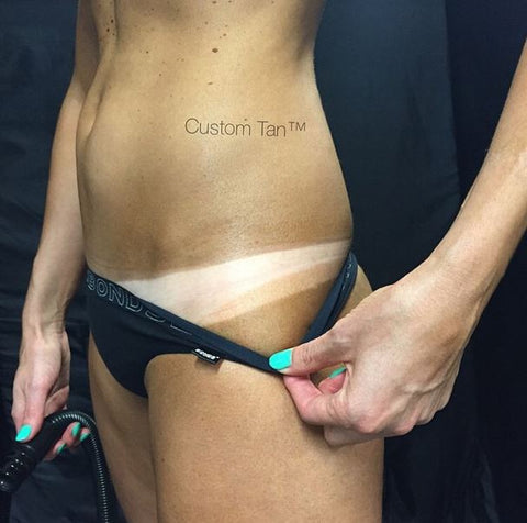 Tan Lines Spray Tanning